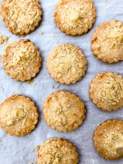 Dorie Greenspan Double-Ginger Crumb Cookies on eatlivetravelwrite.com