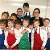Kids cook with Dorie Greenspan and Mardi Michels on eatlivetravelwrite.com