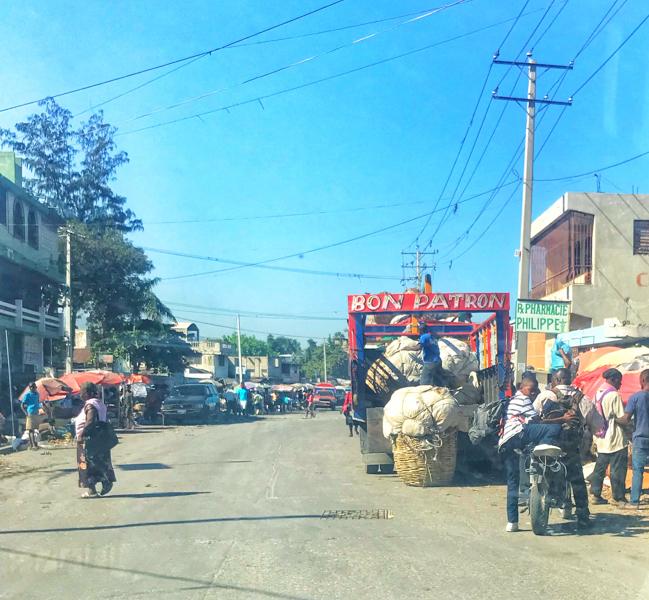 On the road in Haiti on eatlivetravelwrite.com