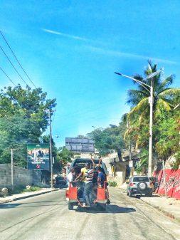 Self driving On the road in Haiti on eatlivetravelwrite.com