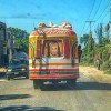 Following a tap-tap on the road in Haiti on eatlivetravelwrite.com