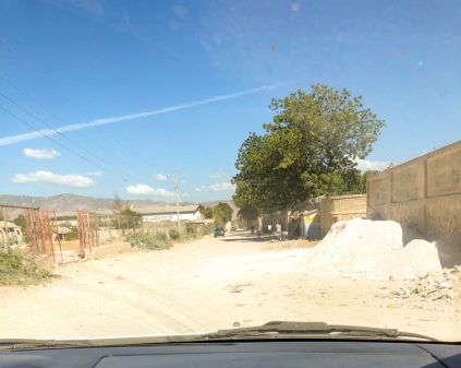 Driving in the suburbs of Port au Prince in Haiti on eatlivetravelwrite.com