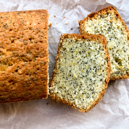 Baking chez Moi Dorie Greenspan Saint-Pierre Poppy Seed Cake on eatlivetravelwrite.com