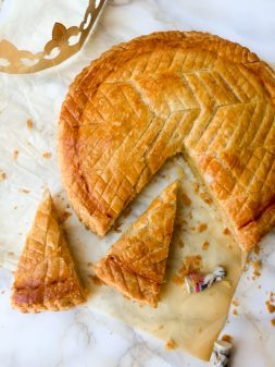 Galette des rois from In the French kitchen with kids on eatlivetravelwrite.com