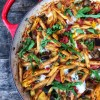 One pot cheese ratatouille pasta on eatlivetravelwrite.com