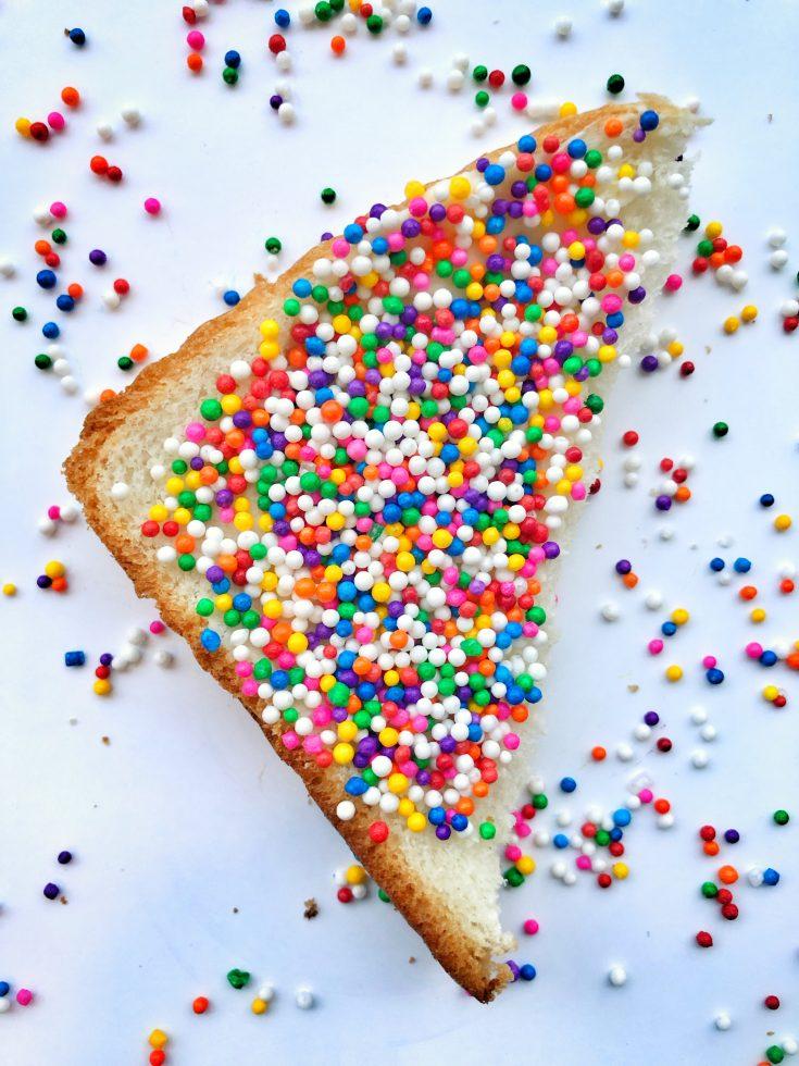 Resultado de imagem para fairy bread