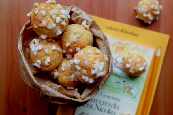 Chouquettes an after school snack in France on eatlivetravelwrite.com