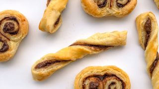 Nutella Twists and Palmiers