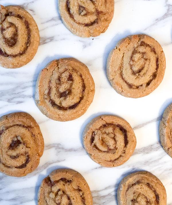 Tuesdays with Dorie Dorie Greenspan Date-Nut Pinwheel Cookies from Dories Cookies on eatlivetravelwrite.com