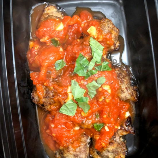 Marble-size Meatballs with Quick and Easy Tomato Sauce from New Favorites for New Cooks on eatlivetravelwrite.com