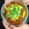 Rice and Bean Bowls with Corn and Avocado Crema from The Complete Cookbook for Young Chefs on eatlivetravelwrite.com