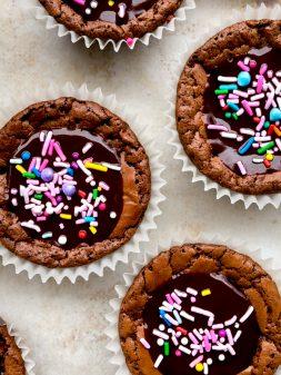 National Cupcake Day 2019 Fudgey chocolate cupcakes on eatlivetravelwrite.com