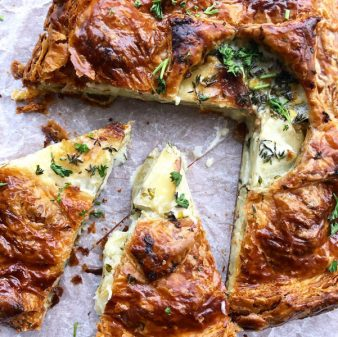 Sliced Potato Tourte from Everyday Dorie on eatlivetravelwrite.com