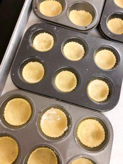 mini tart shells ready to bake for mini strawberry tarts on eatlivetravelwrite.com
