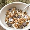 Easy Coconut chocolate granola recipe on eatlivetravelwrite.com