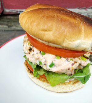 Dorie Greenspan Salmon Burgers on eatlivetravelwrite.com