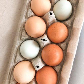 Eggs from James Family Farm on eatlivetravelwrite.com