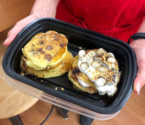Take home Smores Pancakes from Brunch LIfe with Matt Basile on eatlivetravelwrite.com