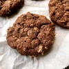 Tuesdays with Dorie Greenspan Chocolate-Oatmeal Biscoff Cookies on eatlivetravelwrite.com