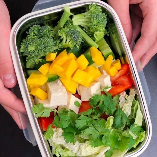 Chopped Thai Salad from Modern Lunch by Allison Day on eatlivetravelwrite.com