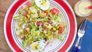 Big summer salad, French-style