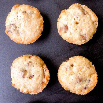 Dorie Greenspan blondies from Dorie's Cookies on eatlivetravelwrite.com