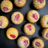 Dorie Greenspan Pistachio and Raspberry Financiers on eatlivetravelwrite.com