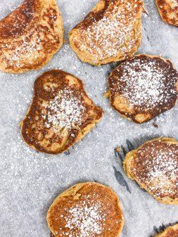 Kids make lemon ricotta pancakes with Mairlyn Smith on eatlivetravelwrite.com