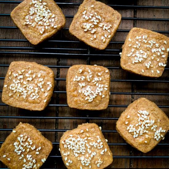 Tuesdays with Dorie Sesame-Sea Salt Cookies from Dorie's Cookies on eatlivetravelwrite.com