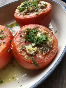 Tomates Provencales from My Paris Market Cookbook on eatlivetravelwrite.com