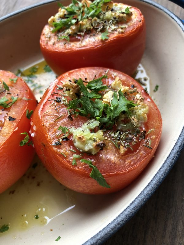 Tomates Provencales from My Paris Market Cookbook on eatlivetravelwrite.com