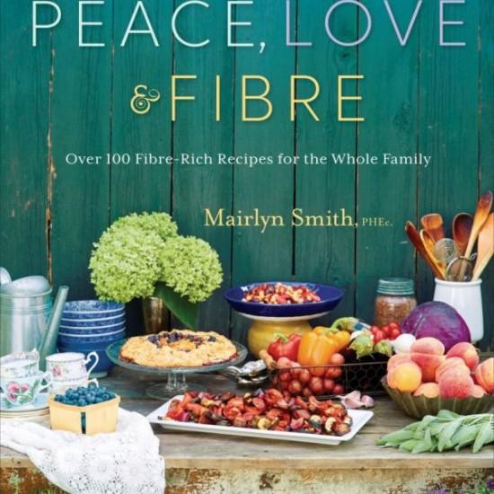 Peace Love and Fibre cover on eatlivetravelwrite.com