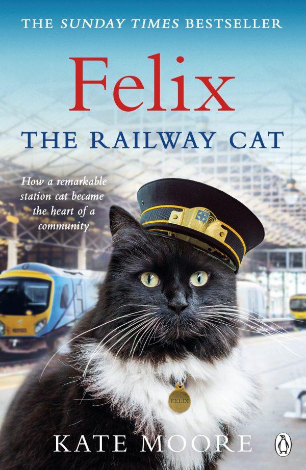 Felix the Railway Cat cover on eatlivetravelwrite.com