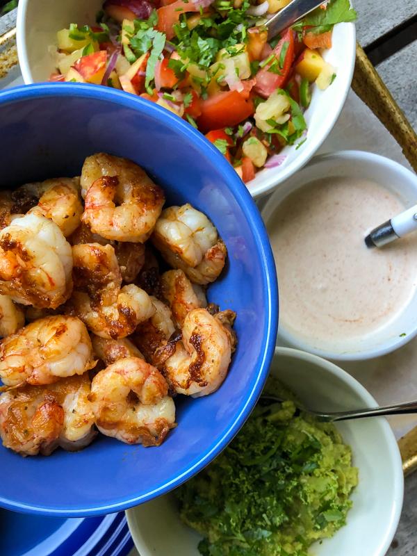Everyday Dorie Dorie Greenspan Shrimp Tacos on eatlivetravelwrite.com
