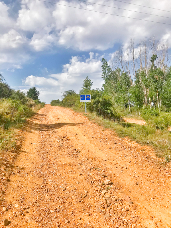 Blue skies walking the Camino de Santiago: Léon to Villavante with Camino Travel Center on eatlivetravelwrite.com