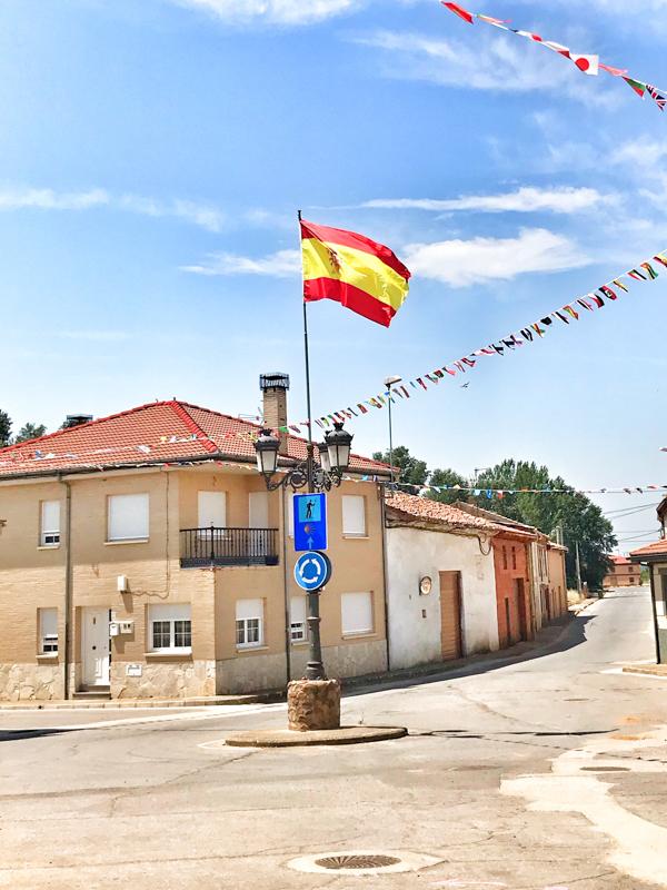 Leaving Villar de Mazarife walking the Camino de Santiago: Léon to Villavante with Camino Travel Center on eatlivetravelwrite.com