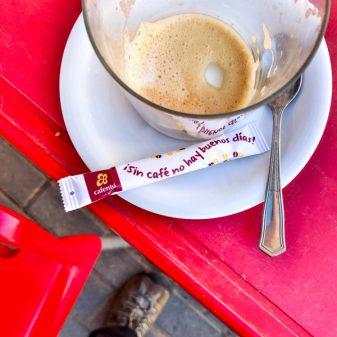 Coffee makes for a good day Walking the Camino de Santiago: Villavante to Astorga wit Camino Travel Center on eatlivetravelwrite.com