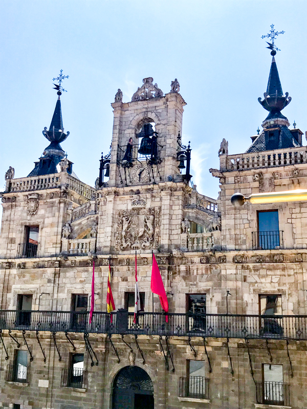 Plaza Mayor Walking the Camino de Santiago: Villavante to Astorga wit Camino Travel Center on eatlivetravelwrite.com