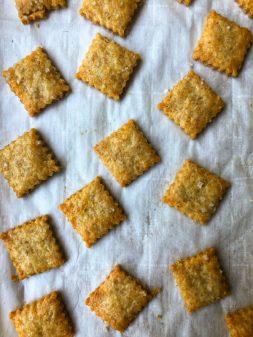 Dorie Greenspan Triscuity Bites from Dorie's Cookies on eatlivetravelwrite.com