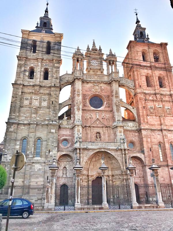 Astorga Cathedral Walking the Camino de Santiago: Astorga to Rabanal del Camino with Camino Travel Center on eatlivetravelwrite.com