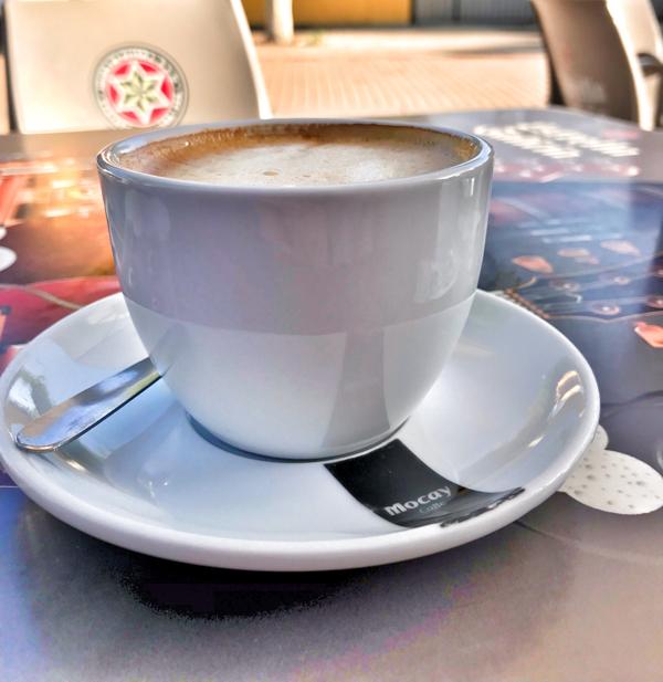 Morning Coffee in Santa Catalina Walking the Camino de Santiago: Astorga to Rabanal del Camino with Camino Travel Center on eatlivetravelwrite.com