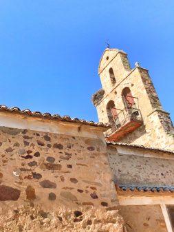 Church in Santa Catalina Walking the Camino de Santiago: Astorga to Rabanal del Camino with Camino Travel Center on eatlivetravelwrite.com