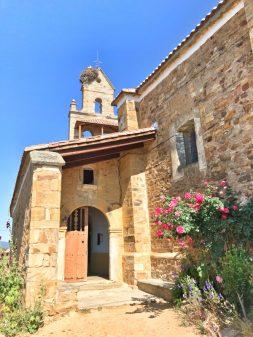 Church in El Ganso Walking the Camino de Santiago: Astorga to Rabanal del Camino with Camino Travel Center on eatlivetravelwrite.com