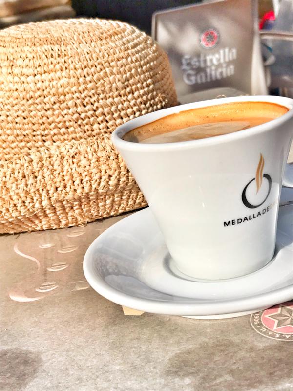 Morning coffee walking the Camino de Santiago: Rabanal del Camino to El Acebo with Camino Travel Center on eatlivetravelwrite.com