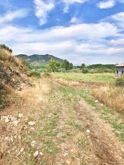 Lonely countryside Walking the Camino de Santiago: El Acebo to Ponferrada with Camino Travel Center on eatlivetravelwrite.com
