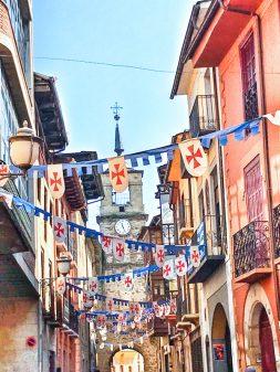 Arriving in Ponferrada Walking the Camino de Santiago: El Acebo to Ponferrada with Camino Travel Center on eatlivetravelwrite.com