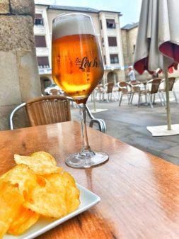 Apero hour in Ponferrada Walking the Camino de Santiago: El Acebo to Ponferrada with Camino Travel Center on eatlivetravelwrite.com