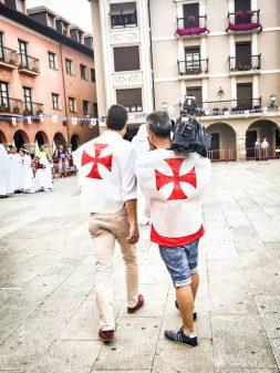 Reporting on Knights Templar Festival in Ponferrada Walking the Camino de Santiago: El Acebo to Ponferrada with Camino Travel Center on eatlivetravelwrite.com