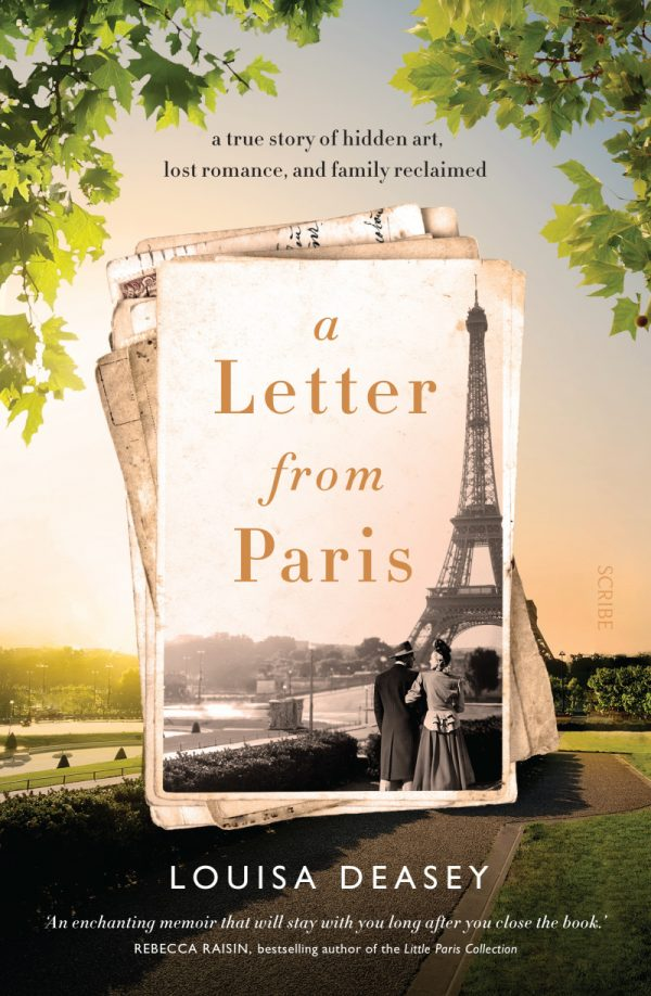 A letter from Paris cover on eatlivetravelwrite.com