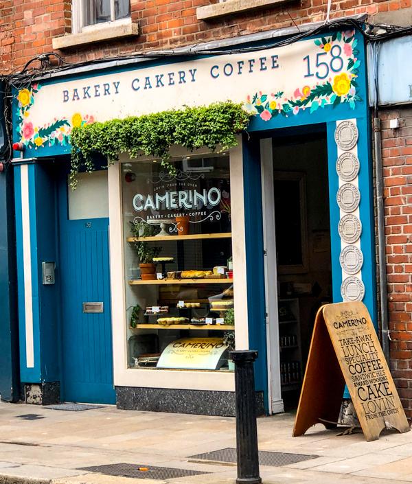 Camerino Bakery on Delicious Dublin tours on eatlivetravelwrite.com